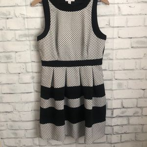 Elle striped / polka dot dress